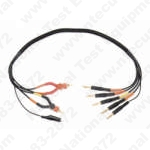 Probe Master 2069 - Kelvin Test Lead, 4 Wire---Standard Banana Plugs